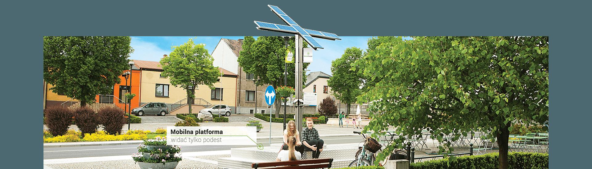 Mobilna Zielona Ładowarka w Krzepicach