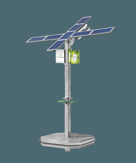 Solarna Zielona Ładowarka