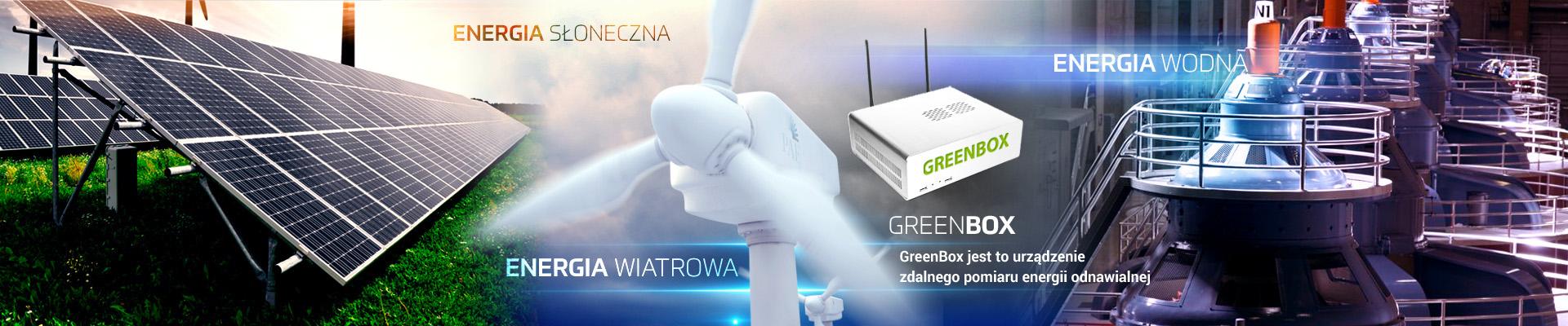 Solarny licznik-miernik energi zielonej