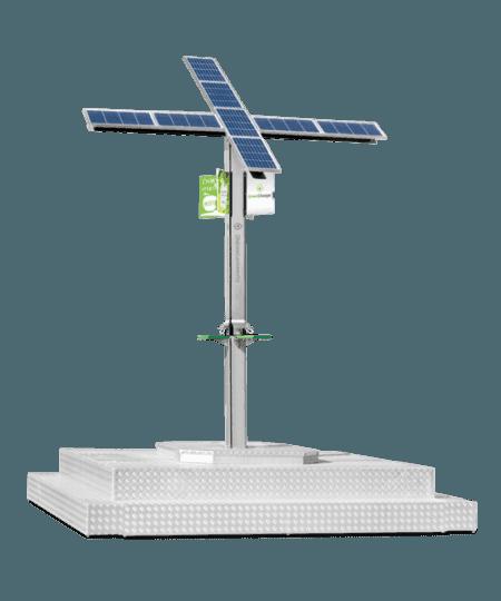 Solarna - Mobilna zielona ladowarka